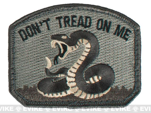 Mil-Spec Monkey Don't Tread Hook and Loop Patch - ACU