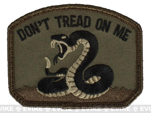 Mil-Spec Monkey Don't Tread Hook and Loop Patch - Forest