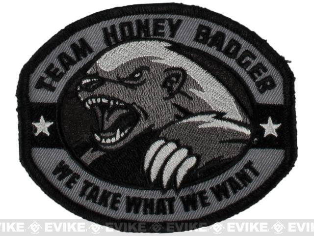 Mil-Spec Monkey Honey Badger Embroidered Patch - SWAT