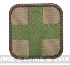 Condor 50mm Tactical Hook & Loop Patch - Medic (Multi Camo)