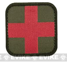 Condor 50mm Tactical Hook & Loop Patch - Medic (OD Green)