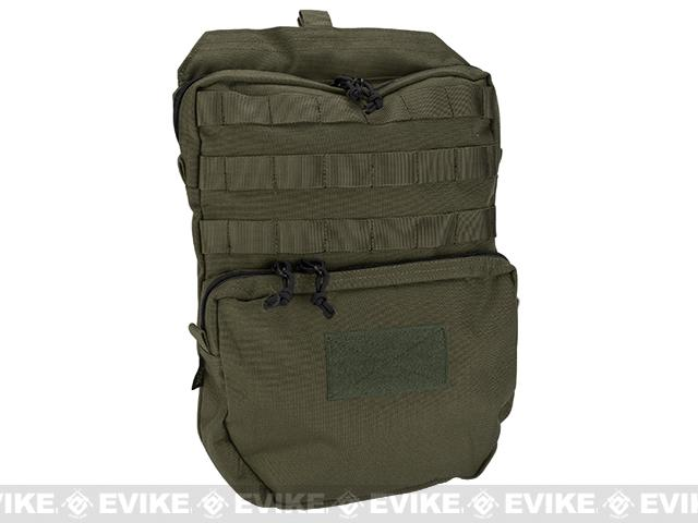 Pro-Arms Plate Carrier Back Bag (Color: Ranger Foliage)