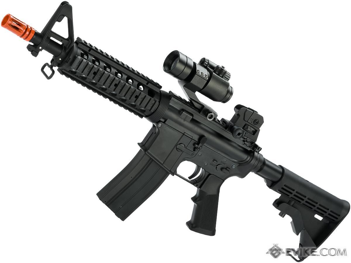 Golden Eagle M4 CQB-R Full Size Polymer Airsoft GBB Rifle