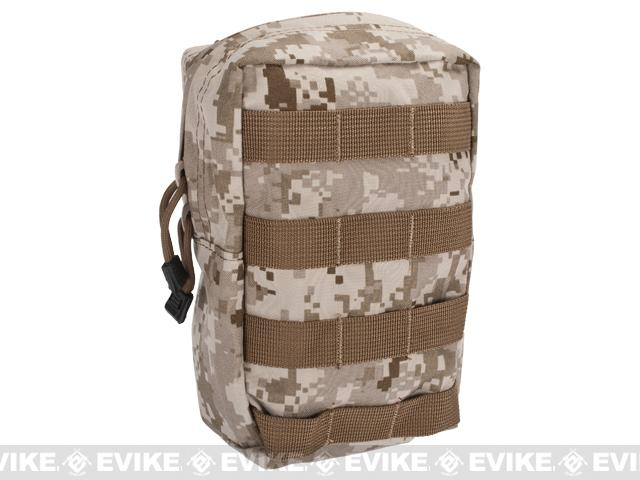 Black Owl Gear / Phantom 9 Large MOLLE Ready Utility / EMT Pouch - (Color: Digital Desert Marpat)