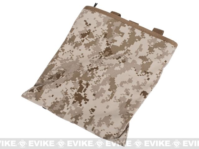 Black Owl Gear / Phantom High Speed Belt / MOLLE Magazine Dump Pouch (Foldable) - Digital Desert Marpat