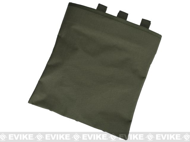 Black Owl Gear / Phantom High Speed Belt / MOLLE Magazine Dump Pouch (Foldable) - Ranger Green