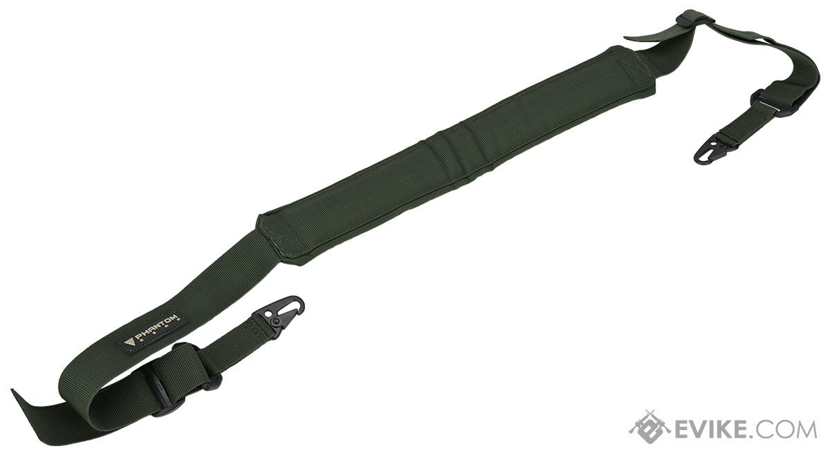 Phantom M60 / M249 Type Heavy Machine Gun Shoulder Sling (Color: OD Green)