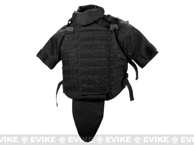 Black Owl Gear / Phantom Interceptor Replica Modular OTV Body Armor / Vest - Extra Large (Black)