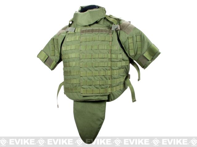 Black Owl Gear / Phantom Interceptor Replica Modular OTV Body Armor / Vest - Medium (OD Green)