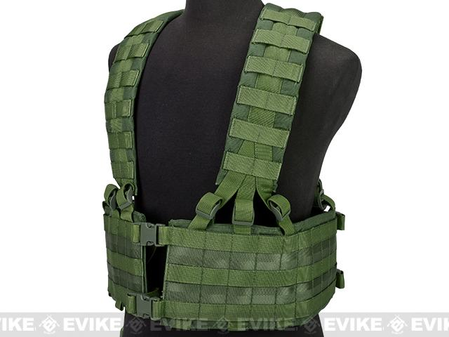 Black Owl Gear / Phantom Operator Load Bearing High Speed Chest Rig - OD Green