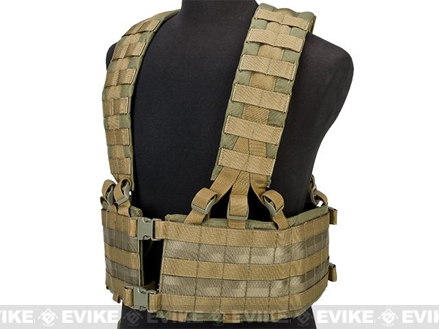 Black Owl Gear / Phantom Operator Load Bearing High Speed Chest Rig - Desert Tan