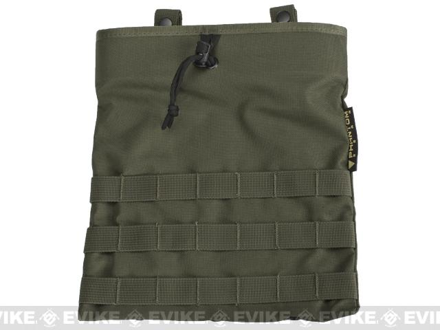 Black Owl Gear / Phantom Level-3 High Speed Modular Tactical Dump Pouch - Ranger Green