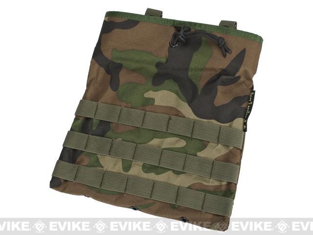 Black Owl Gear / Phantom Level-3 High Speed Modular Tactical Dump Pouch - Woodland Camo