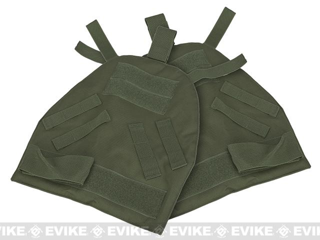 Black Owl Gear / Phantom Shoulder Guards for Interceptor OTV Body Armor / Vests - OD Green (X-Large)
