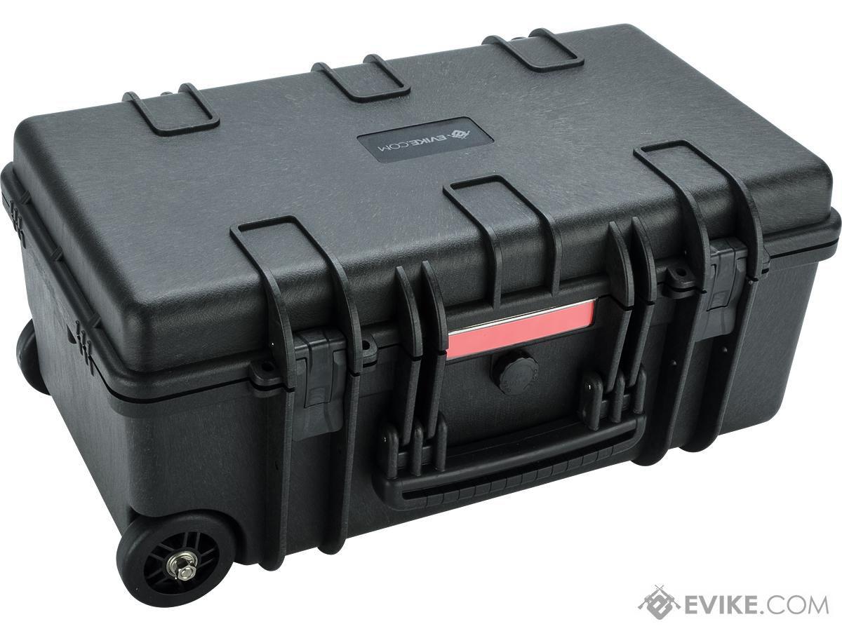 Evike.com Carry-On Equipment Rolling Case w/ Customizable Grid Foam (Color: Black)