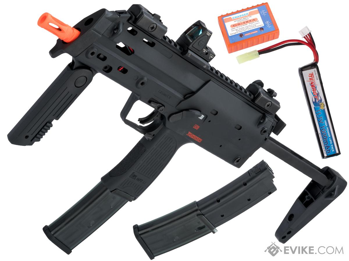 Elite Force / Umarex H&K Licensed MP7 A1 PDW Airsoft AEG by VFC (Model: Gun / Starter Package)
