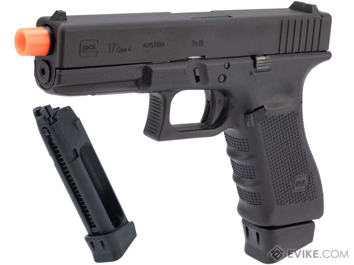 Spartan Licensed GLOCK Blowback Training Pistol - LE / Military ONLY (Model: G17 Gen.4 / Gun + Extra Magazine)