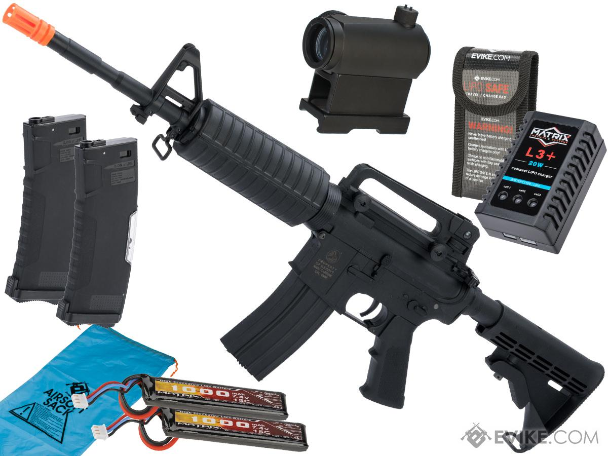 Colt Licensed Sportsline M4 AEG by Cybergun (Model: M4A1 / Go Airsoft Package)