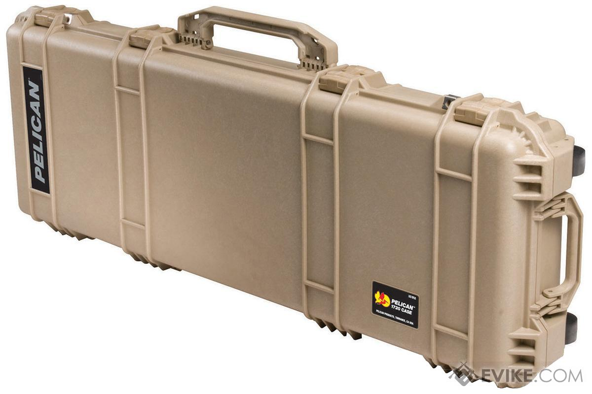 Pelican™ 1720 WL/WF Long Rifle Case w/ Wheels - Desert Tan