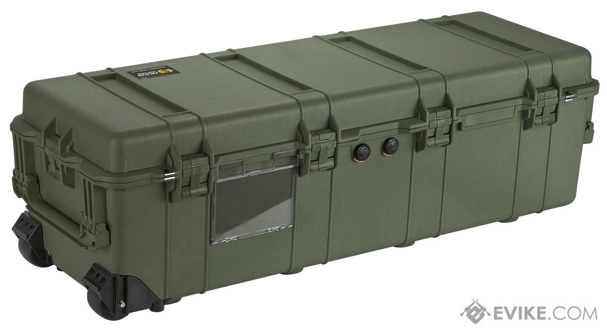 Pelican™ 1740 WL/NF Rolling Long Case - OD Green