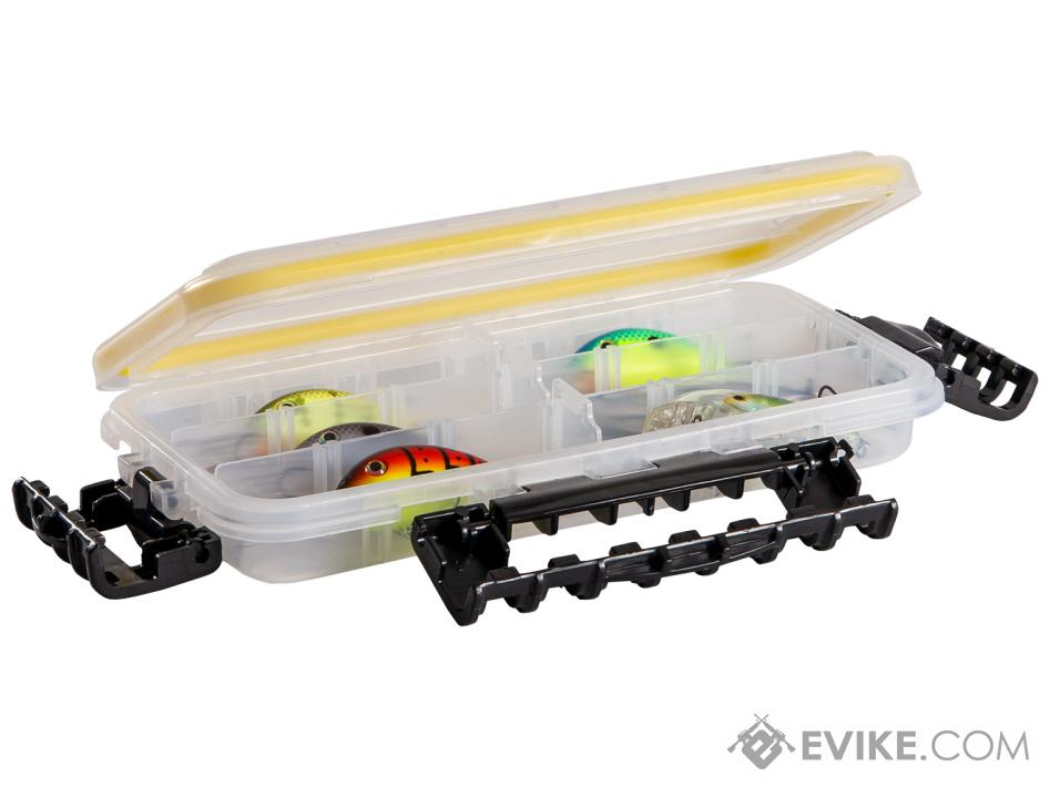 Plano Waterproof Stowaway Clear Storage Utility Divided Box (Model: 3500 / 3 to 18 Compartments)