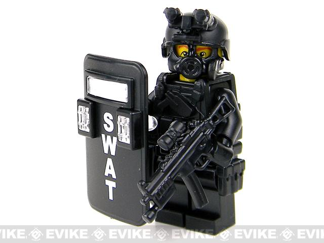 Battle Brick Customs Military Mini-Figure (Model: SWAT Pointman)