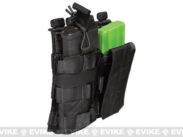 5.11 Tactical AR Double Bungee Cover Magazine Pouch - Black