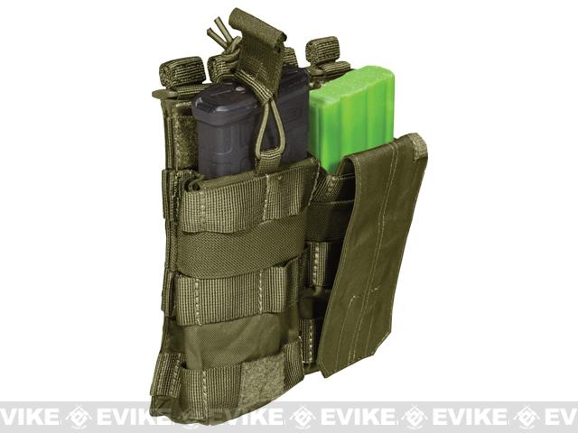 5.11 Tactical AR Double Bungee Cover Magazine Pouch - Tac OD