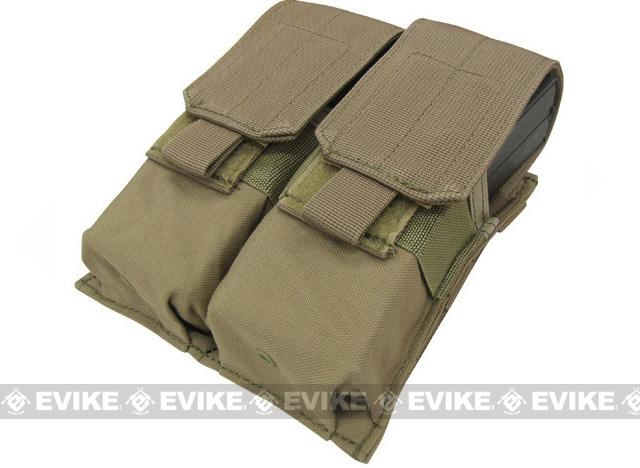 Phantom Gear Modular MOLLE Ready Tactical Double M4 M16 Magazine Pouch - Tan
