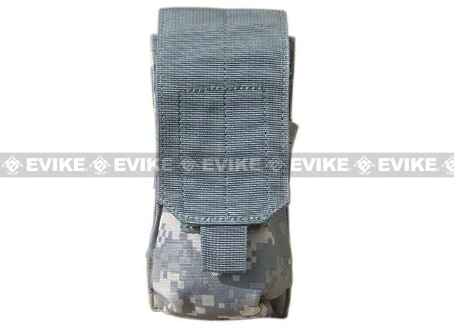 Tactical MOLLE Ready Single M4 M16 Magazine Pouch by Phantom Gear - ACU
