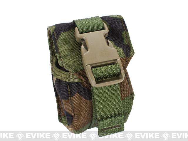 Phantom Single Frag Grenade MOLLE Ready Tactical Pouch - Woodland