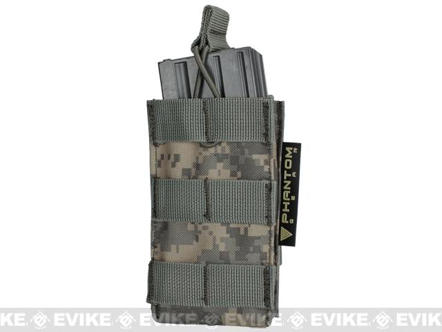 z Phantom Single M4/M16 Open Top MOLLE System Ready Mag Pouch - ACU