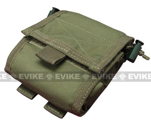 Black Owl Gear / Phantom Gear MOLLE Roll-Up Utility / Dump Pouch (Color: OD Green)