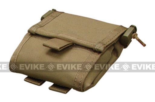 Black Owl Gear / Phantom Gear MOLLE Roll-Up Utility / Dump Pouch (Color: Tan)