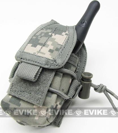 MOLLE Multi-Purpose Handheld FRS Radio MOLLE Pouch (Color: ACU)