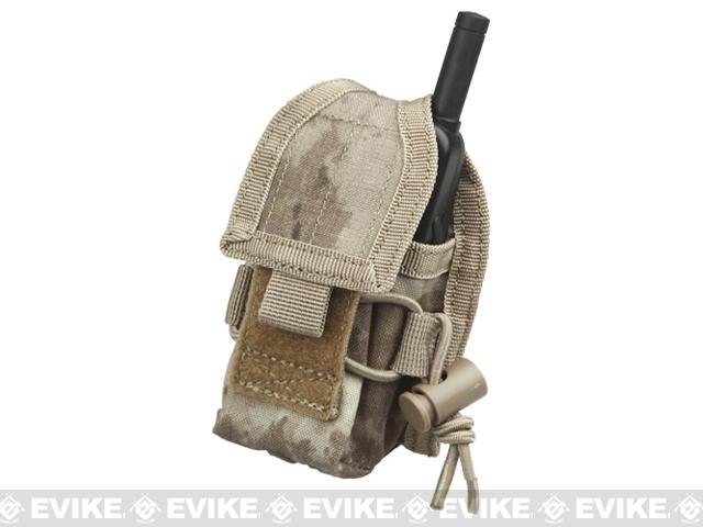 MOLLE Multi-Purpose Handheld FRS Radio MOLLE Pouch (Color: A-Tacs)