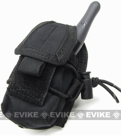Condor MOLLE Multi-Purpose Handheld FRS Radio MOLLE Pouch (Color: Black)