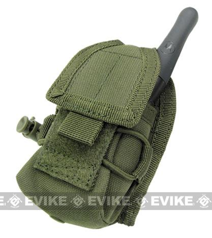 MOLLE Multi-Purpose Handheld FRS Radio MOLLE Pouch (Color: OD Green)