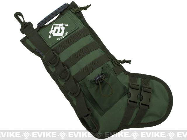 Evike.com High Speed Operator Stocking / Accessory Pouch (Color: OD Green)