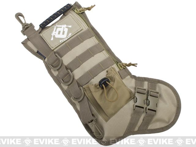 Evike.com High Speed Operator Stocking / Accessory Pouch (Color: Tan)