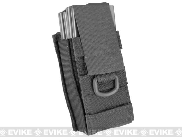 Black Owl Gear / Phantom Aggressor MOLLE Ready M4 AK MP5 Magazine Pouch - Single (Color: Black)