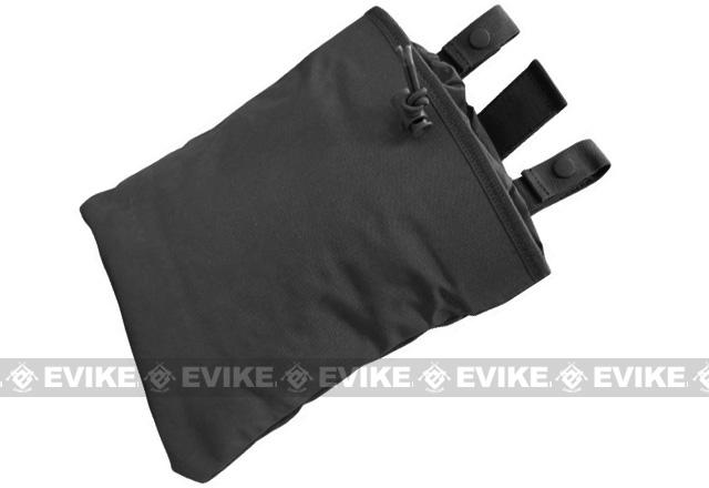 Black Owl Gear / Phantom High Speed Belt / MOLLE Magazine Dump Pouch (Foldable) - Black