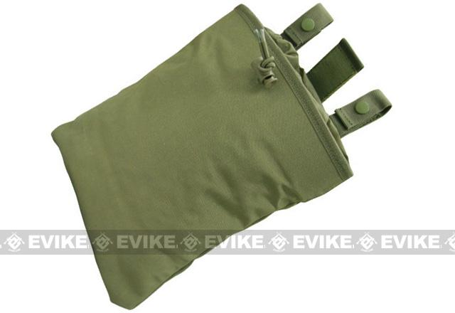 Black Owl Gear / Phantom High Speed Belt / MOLLE Magazine Dump Pouch (Foldable) - OD Green