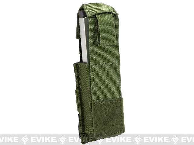 Black Owl Gear / Phantom Gear MOLLE Hard Shell Quick Draw Pistol Magazine Pouch (Color: OD Green)