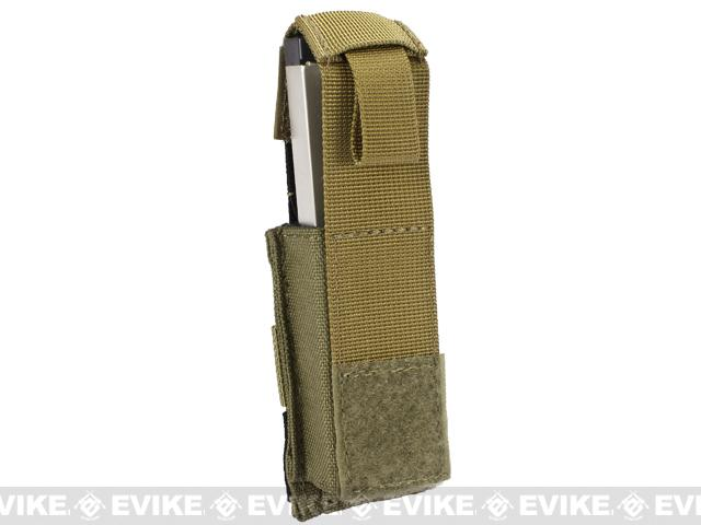 Black Owl Gear / Phantom Gear MOLLE Hard Shell Quick Draw Pistol Magazine Pouch (Color: Tan)
