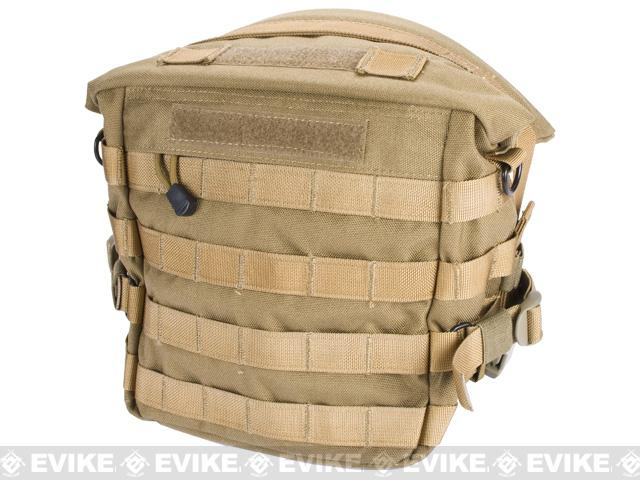 Black Owl Gear / Phantom Transformer XL MOLLE Bag / Dump Pouch (Color: Desert Tan)