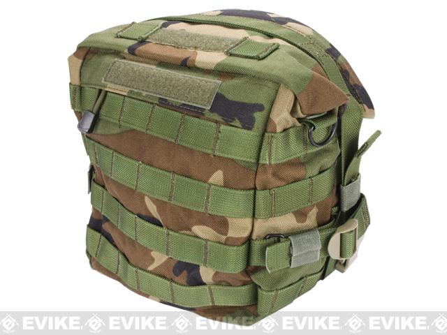 Black Owl Gear / Phantom Transformer XL MOLLE Bag / Dump Pouch - Woodland Camo