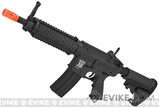 APS Kompetitor Electric Blowback C33 M4 CQB Airsoft AEG Rifle (Black)