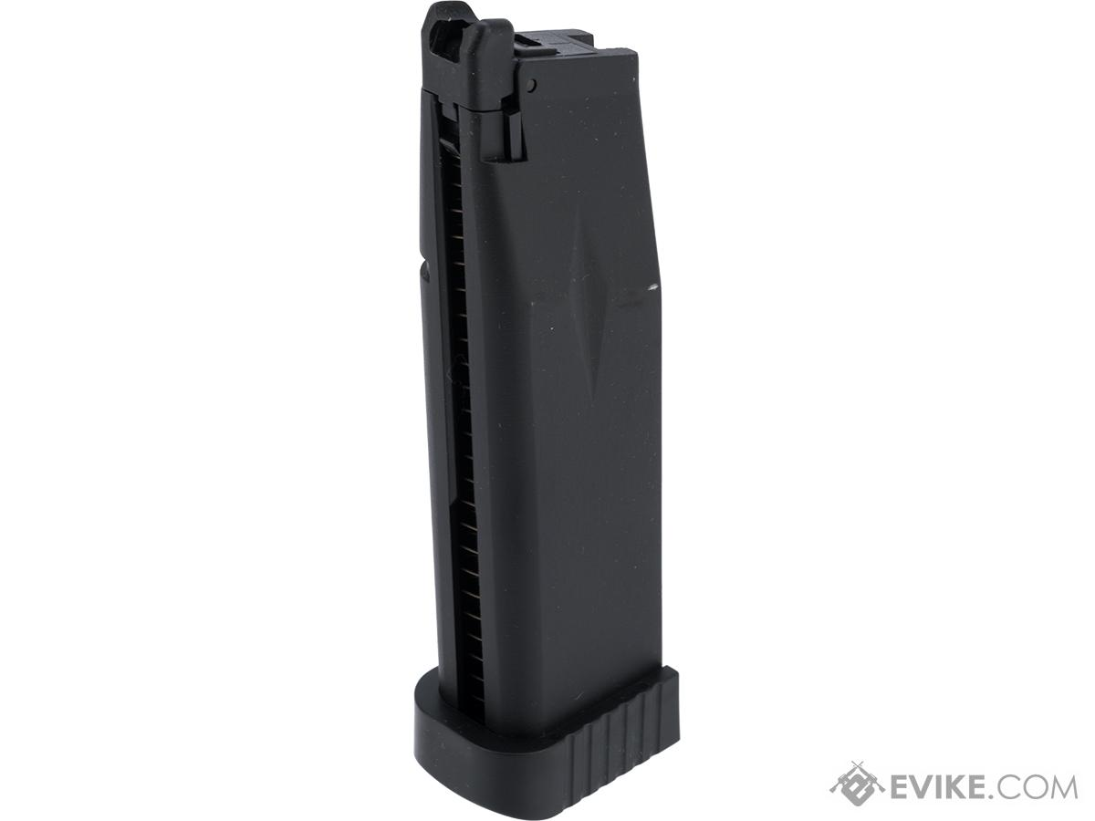 Pre-Order ETA November 2019 KJW 31 Round Xcelerator Magazine for Hi-Capa Gas Blowback Airsoft Pistols (Type: CO2)