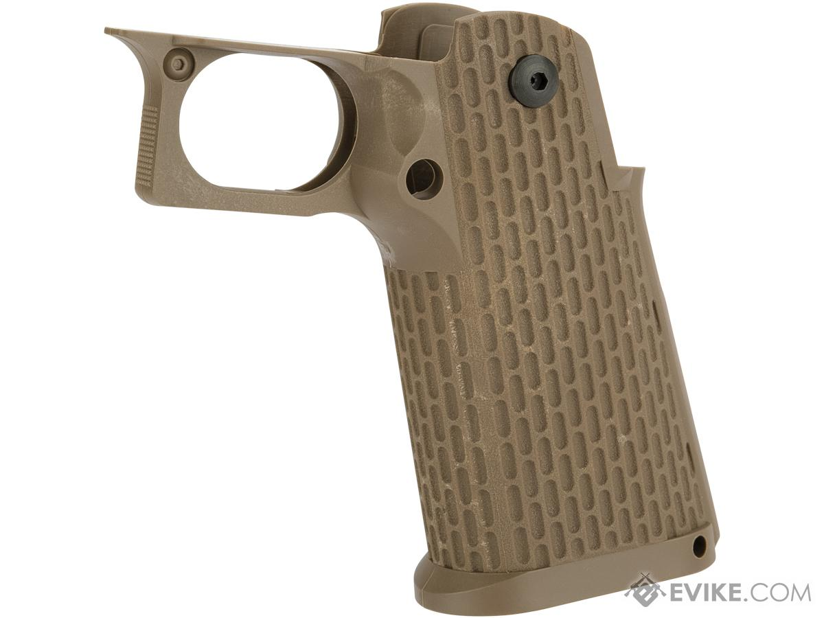 KJW Polymer Hi-Capa Pistol Grip with Integrated Trigger Guard (Color: Desert)